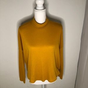 Divided by H&M Mock Neck Ribbed Sweater Size M